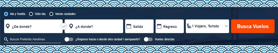 Cotizar Tiquetes aéreos o Planes personalizados.