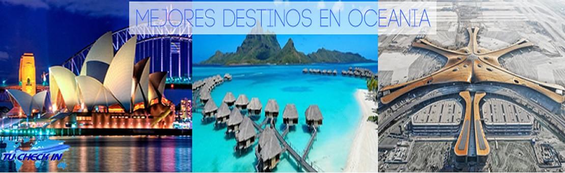 Mejores destinos Oceanía
